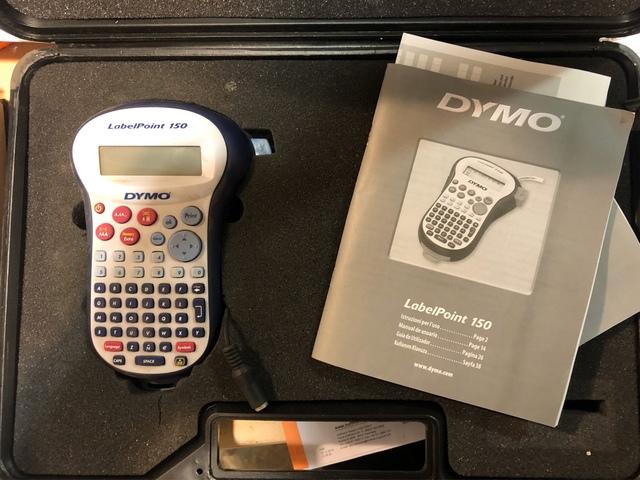 LM21 LM200 LM120P LMPC2 LM160 para DYMO LabelPOINT /& LabelManager LM100 5x Cartucho para impresi/ón de etiquetas compatible con Dymo 45013 D1 en negro sobre blanco 12 mm x 7 m para la LabelManager LabelPoint LabelWriter por ejemplo LM150