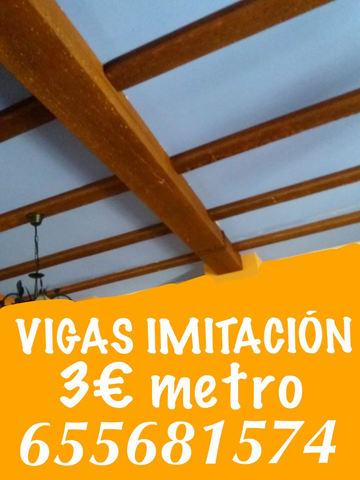 Vigas Imitación Paneles Asturias