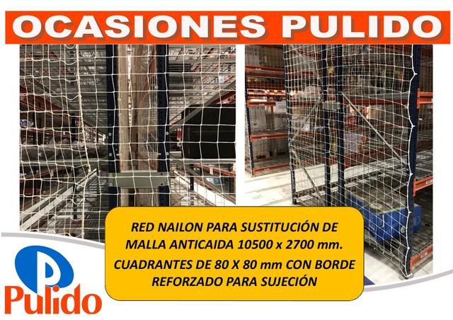 RED NAILON SUSTITUYE MALLA ANTICAIDA - foto 1