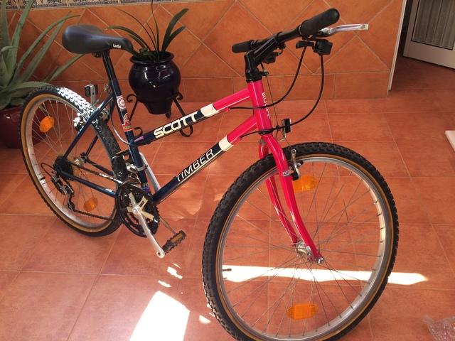 Bicicleta Scott De Mujer