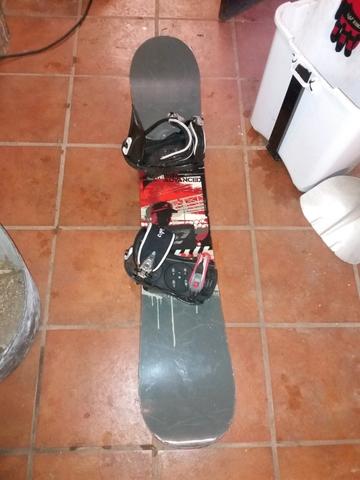 TABLA DE SNOWBOARD CON FIJACIONES DE 154 - foto 1
