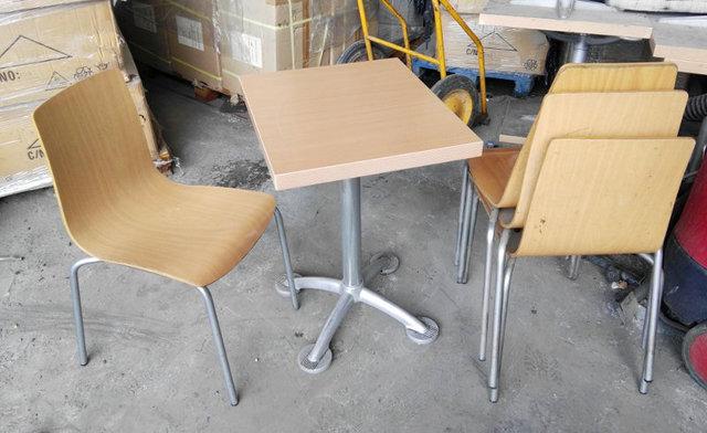 mesas y sillas hosteleria ocasion