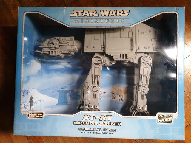 Star Wars At-At Imperial Walker Colossal