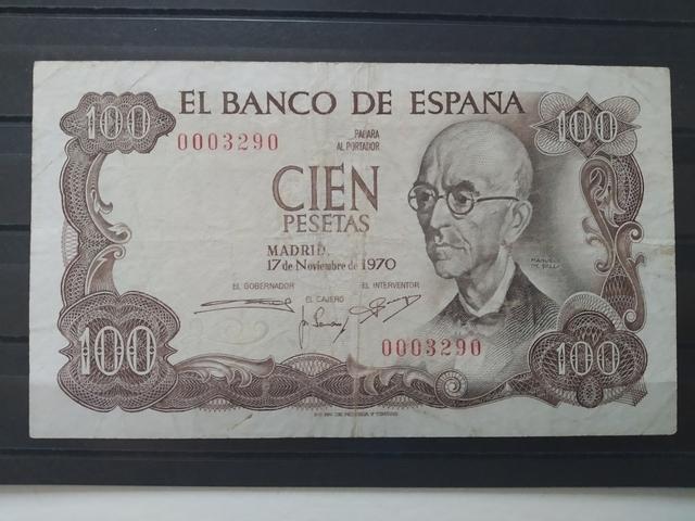 100 Pesetas  1970. Muy Bajo(0003290).