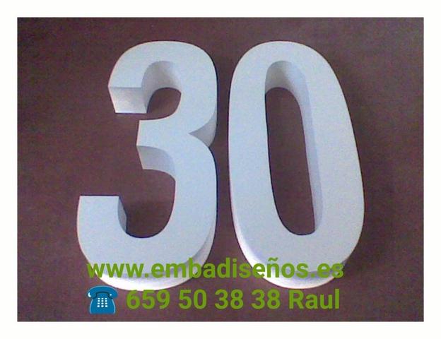 INICIALES DE POLIESPAN Y NOMBRES 3D - foto 9