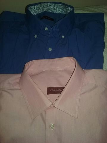 Camisa hombre CARLOS CORDOBA manga larga talla 43 XL