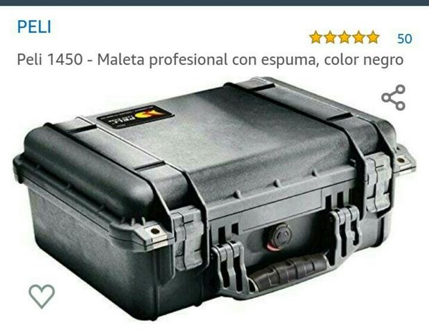 Peli case 1450 con espuma negro foto maleta industria maleta protección maleta ip67