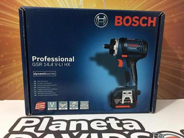 Atornillador Bosch Con 2 Baterias
