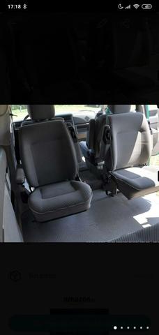 Fundas para asientos ya referencias set ka VW t4 Caravelle de tela azul