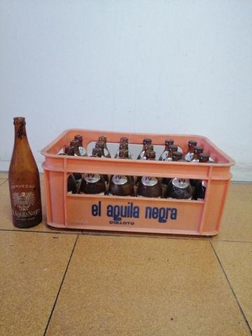 Caja De 24 Botellas El Águila Negra