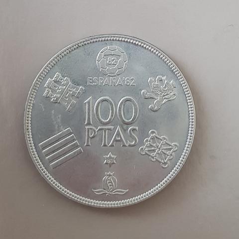 Moneda 100 Pesetas España 82