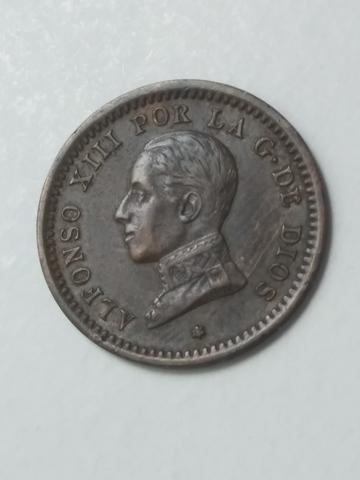 Moneda 2 Centimos 1912 Alfonso Xiii