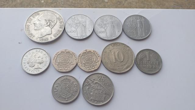 Vendo Monedas Antiguas..
