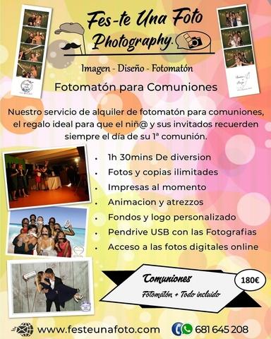 FOTOMATON PARA COMUNIONES - foto 2
