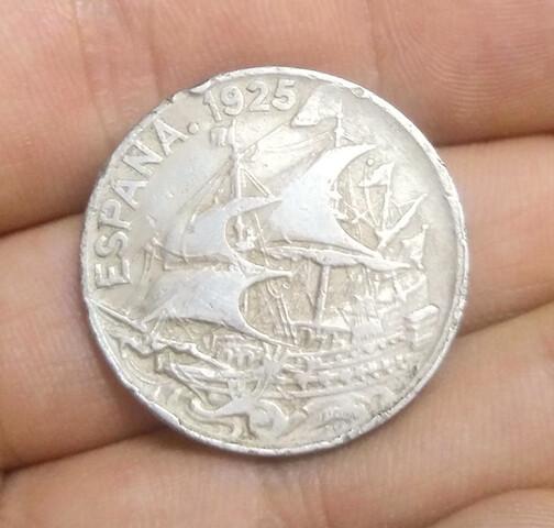 Moneda 25 Centimos 1925