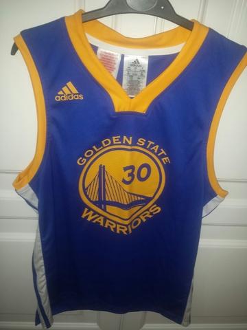 Nueva camiseta replica de Adidas del MVP de la NBA Stephen Curry