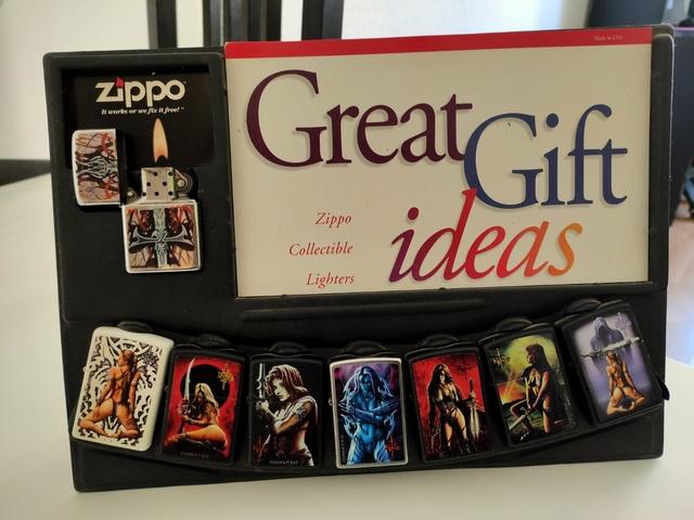 Colección Zippo