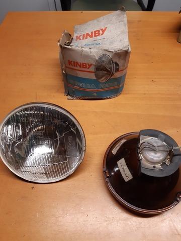 Mini Mk1 /& 2 Con Vidrio Curvado Velocímetro Bisel Cromado