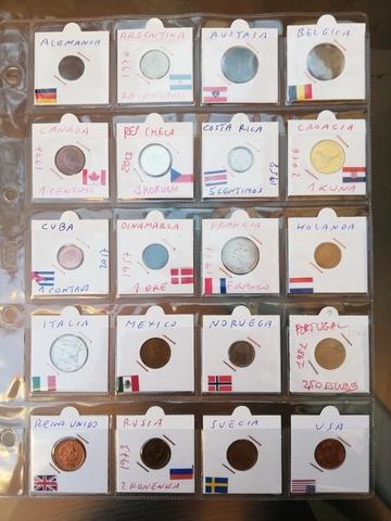 Colección De Monedas Del Mundo