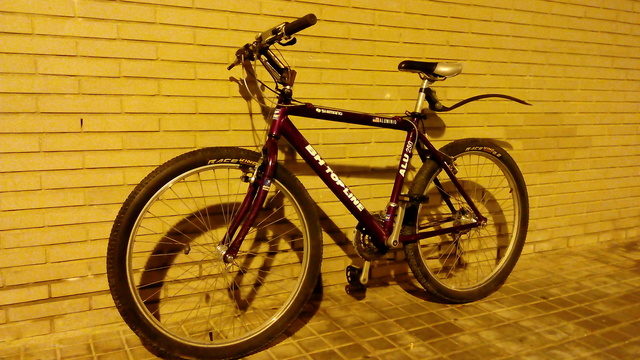 bicicleta de suspensión en caso de prostatitis