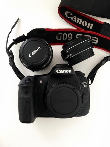 CANON EOS 60D + 2 OBJETIVOS - foto 1