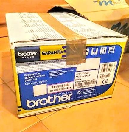 FAX MULTICOPIADORA BROTHER T-104 - foto 2