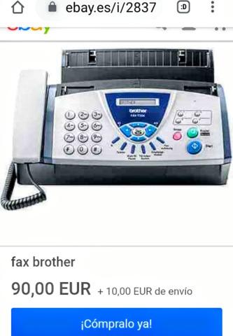 FAX MULTICOPIADORA BROTHER T-104 - foto 4