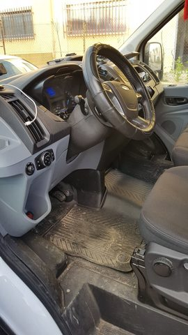 mesa referencia encaja perfectamente gris lux para Ford Transit Custom 2013+ 2+1 ya referencias