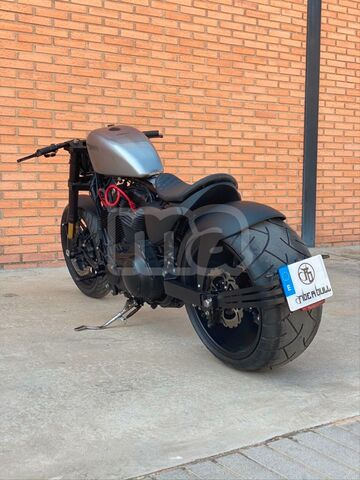 Custom Chrome Dep/ósito Sin Tratar Peanut Harley Moto Para Custom Bobber Sportster Chopper