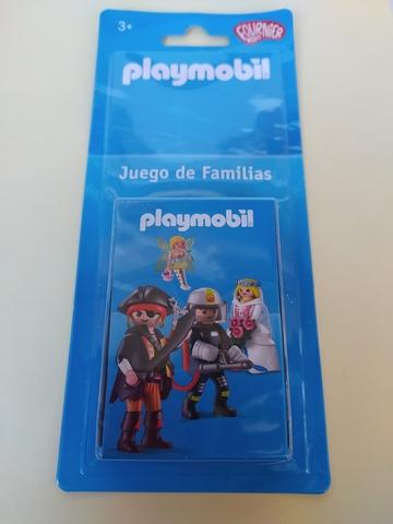 Playmobil Baraja Infantil Juego Familias