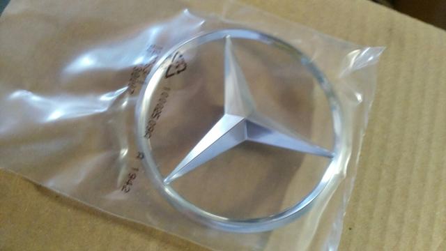 Insignia de estrella para maletero trasero Benz E W212 A2128170016