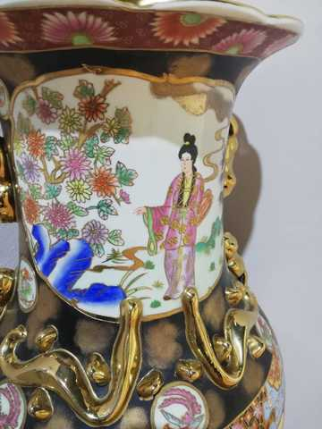 JARRON GRANDE PORCELANA CHINA - foto 6