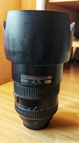 NIKON 17-55MM F/2. 8G IF-ED - foto 1