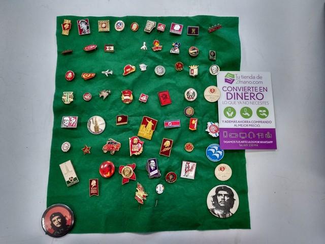Lote De 60 Pins Comunismo Rusia