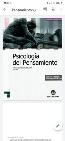 LIBROS PSICOLOGIA UNED 2020/2021 - foto 1