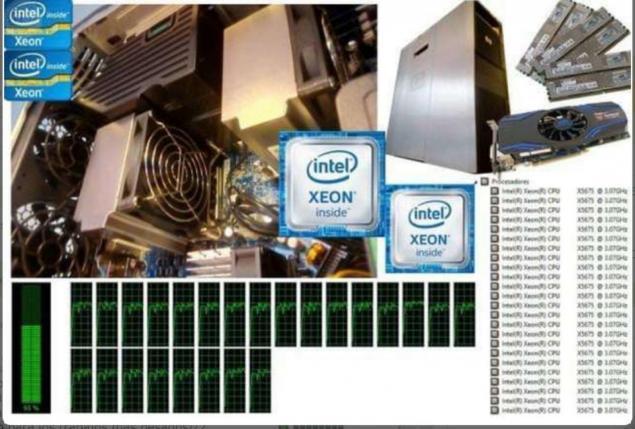 WORKSTATION 2 X XEON 12 NUCLEOS 24 HILOS - foto 1