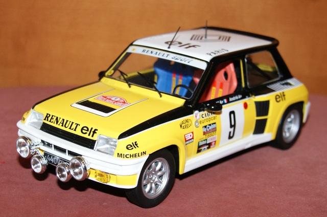 Renault 5 Turbo Rallye De Montecarlo 198