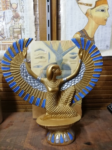 THOT Figura Dios Antiguo Egipto 10-15 cms Resina FARAON EGIPCIO