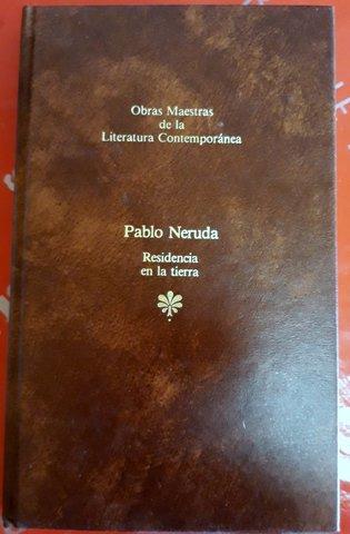 LIBRO PABLO NERUDA RESIDENCIA EN LA segunda mano  Barbera del Valles
