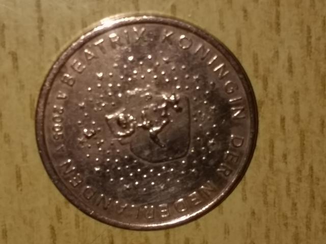 Moneda 5 Céntimos Holanda 2005