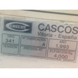 ELEVADOR DE COCHE CASCOS C341 DE 4 COLUM - foto 3