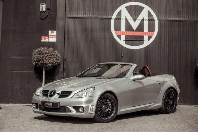 Original Mercedes Benz AMG clave remolque correa de cuero rojo carbon óptica