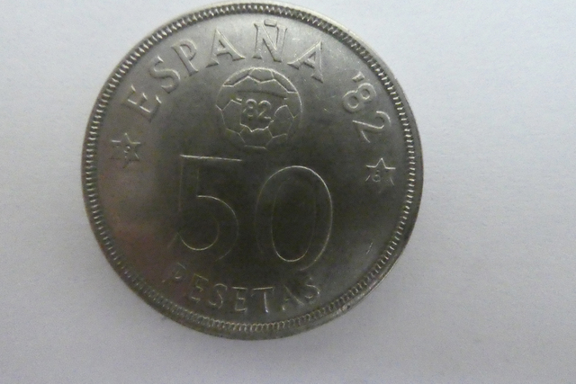Moneda 50-Pesetas Conmemorativa