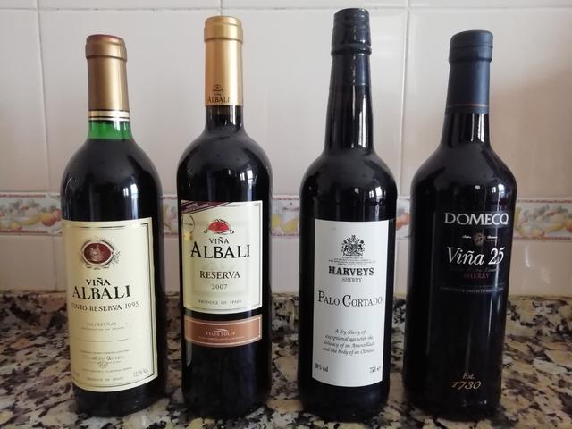 Lote De Botellas De Vino