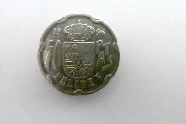 Moneda 50-Pesetas Felipe V
