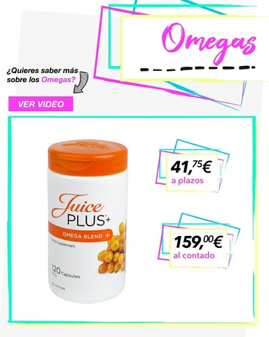 JUICE PLUS (OMEGAS) - foto 1