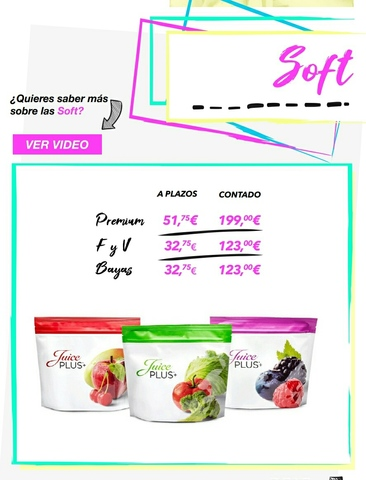 JUICE PLUS (CHUCHES NIÑOS FRUTAS) - foto 1