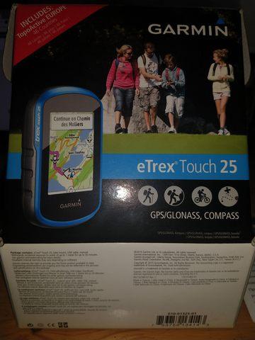 GPS GARMIN ETREX TOUCH 25 segunda mano  Tres Cantos