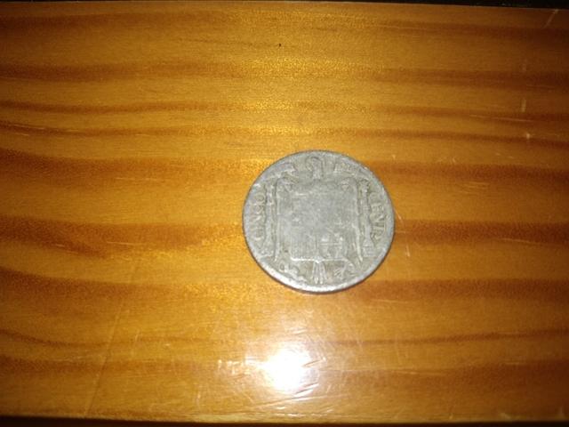 Moneda 5 Céntimos 1940.