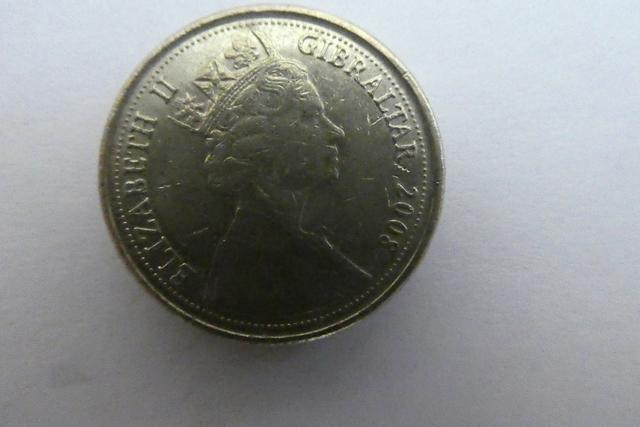 Monedas One Pond Inglesas